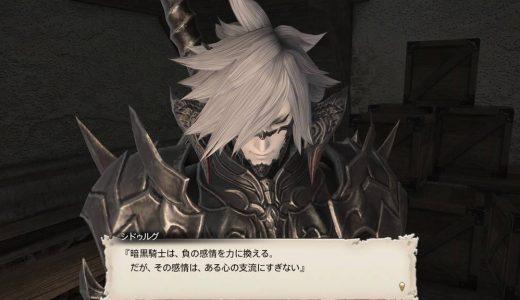 STORY   3.ジョブ・ロール-暗黒騎士レベル54【怒れる男と少女の話】